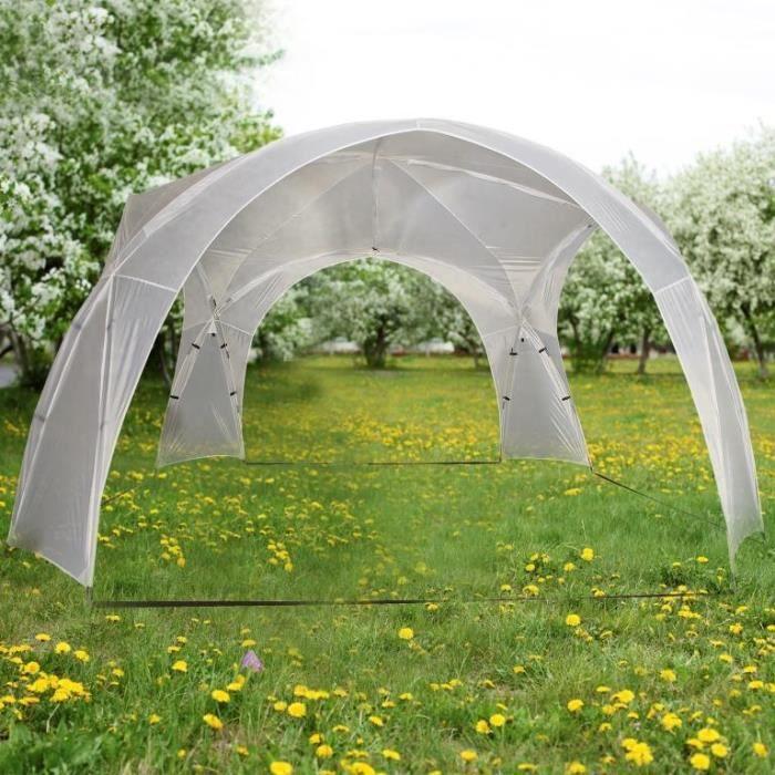 tonnelle gazebo dome armature fibre de verre achat vente tonnelle barnum tonnelle. Black Bedroom Furniture Sets. Home Design Ideas