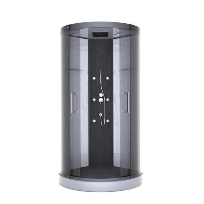 Aurlane cabine de douche pure round 95x95cm achat - Cabine de douche cdiscount ...