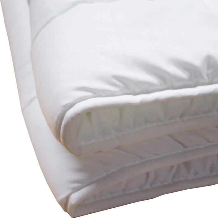Couette blanche 140x200cm 394gr m achat vente couette for Couette blanche