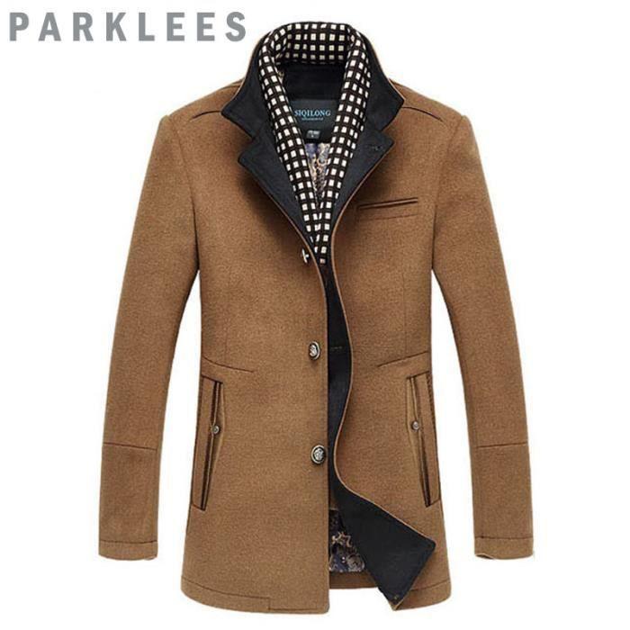 Manteaux homme a la mode - Mode carreaux ...