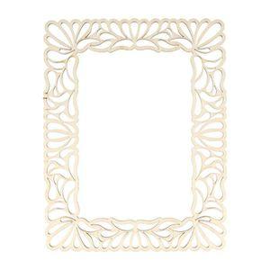 Support à décorer ARTEMIO Template cadre fantaisie en bois 10 x 15c