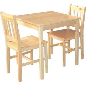 Meuble de cuisine en pin achat vente meuble de cuisine - Ensemble table chaise cuisine pas cher ...