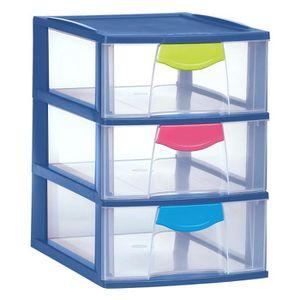 Tour tiroir plastique achat vente tour tiroir - Colonne rangement plastique ...