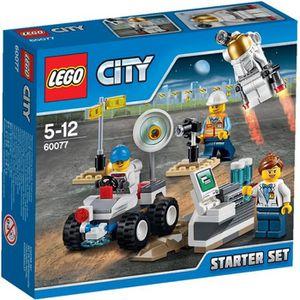 ASSEMBLAGE CONSTRUCTION LEGO® City 60077 Ensemble de Démarrage de l'Espace