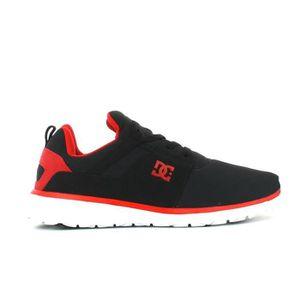 BASKET Basket basse dc shoes heathrow junior noir rouge t