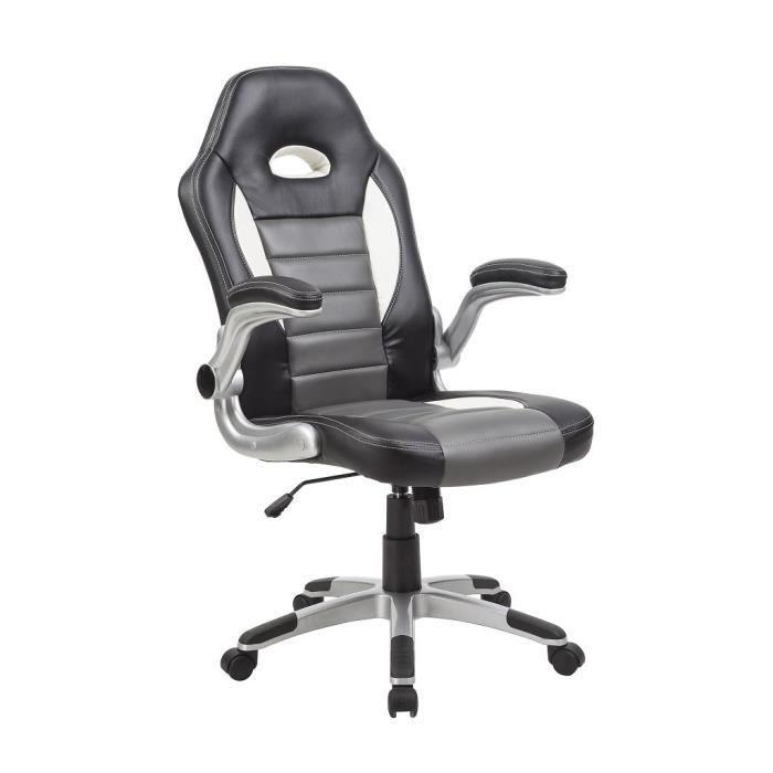 chaise fauteuil de bureau ergonomique pivotant achat. Black Bedroom Furniture Sets. Home Design Ideas