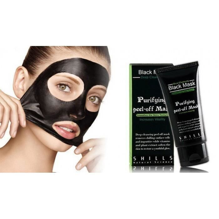 creme black mask shills 50ml anti point noir acne achat vente gommage corps creme black mask. Black Bedroom Furniture Sets. Home Design Ideas