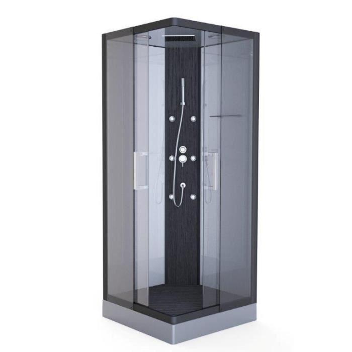Aurlane cabine de douche pure square 90x90cm achat - Cabine de douche cdiscount ...