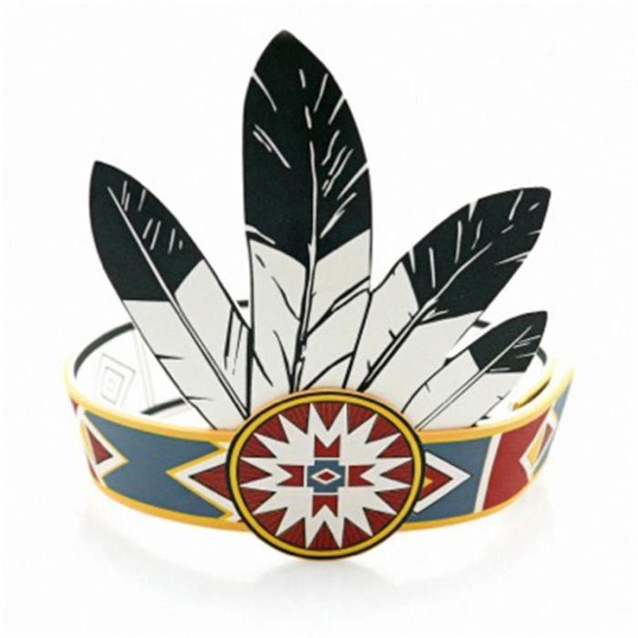 Как своими руками сделать головной убор индейца своими руками из бумаги