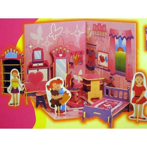 Puzzle 3d En Mousse Chambre Cuisine Ou Nursery Achat