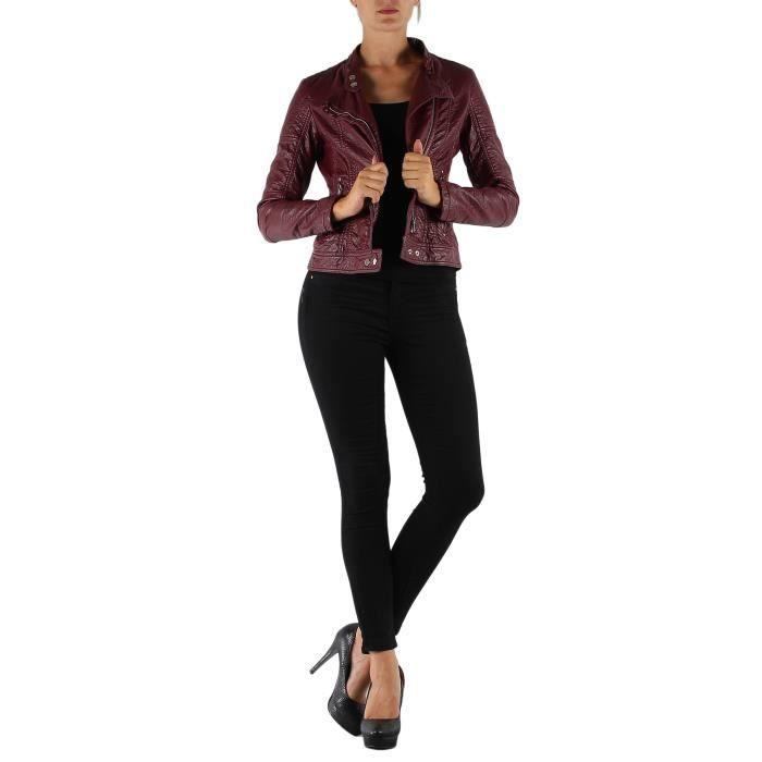 que du bonheur avec cette magnifique veste de marque colynn en simili cuir. Black Bedroom Furniture Sets. Home Design Ideas