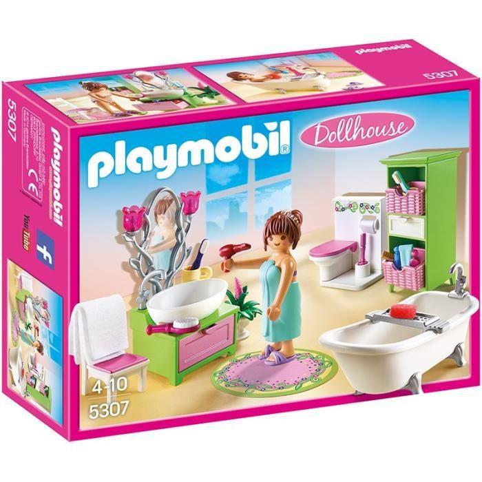 salle de bain playmobil achat vente jeux et jouets pas. Black Bedroom Furniture Sets. Home Design Ideas