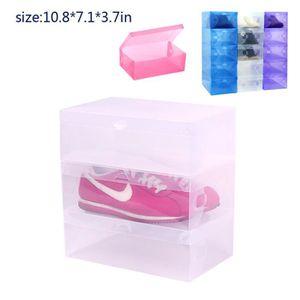 boite de rangement chaussures transparent achat vente. Black Bedroom Furniture Sets. Home Design Ideas