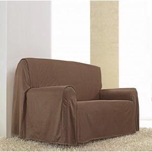 housse canap 3places floride taupe achat vente housse de canape cdiscount. Black Bedroom Furniture Sets. Home Design Ideas