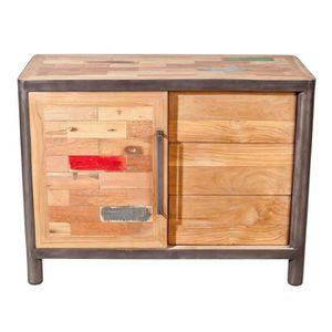 enfilade 3 porte coulissante achat vente enfilade 3 porte coulissante pas cher cdiscount. Black Bedroom Furniture Sets. Home Design Ideas