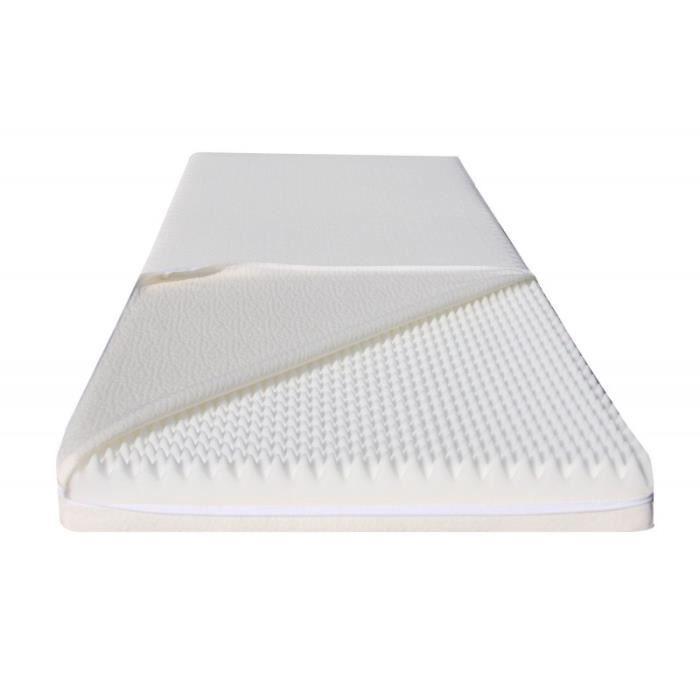 matelas mdf 120x200 d houssable orthop dique anti allergique et anti acari. Black Bedroom Furniture Sets. Home Design Ideas