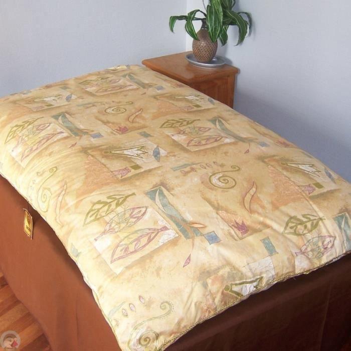 edredon gonflant 4 imprim s dimension 140x160 achat vente couverture plaid cdiscount. Black Bedroom Furniture Sets. Home Design Ideas
