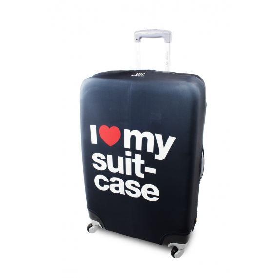Housse de protection pour valise love suitcase achat for Housse protection valise