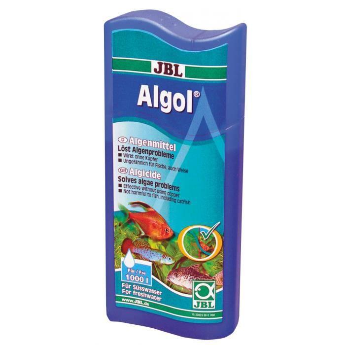 Jbl algol 100 ml anti algues pour aquarium achat for Produit pour aquarium