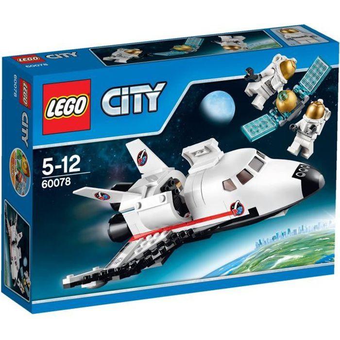 lego city 60078 la navette spatiale achat vente assemblage construction cdiscount. Black Bedroom Furniture Sets. Home Design Ideas