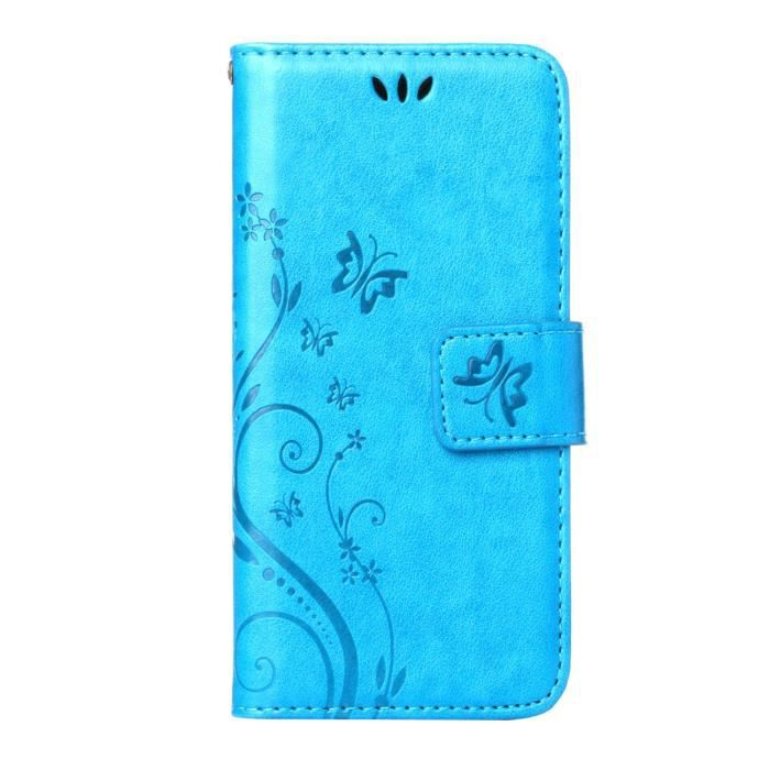 Housse cuir tui iphone 6 plus 6s plus 5 5 tui luxe for Housse iphone 5 cuir