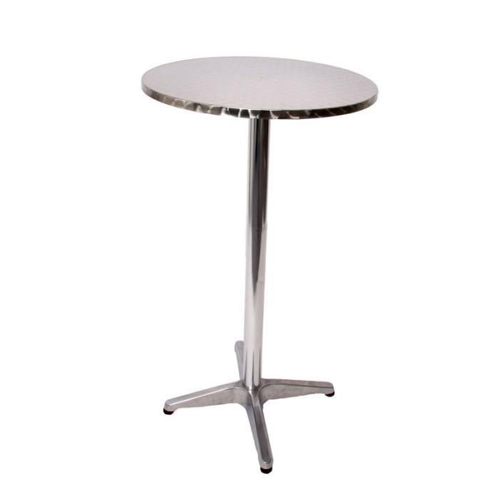 Table de bar avec couverture noir l112 x d60 cm achat for Table de bar noir