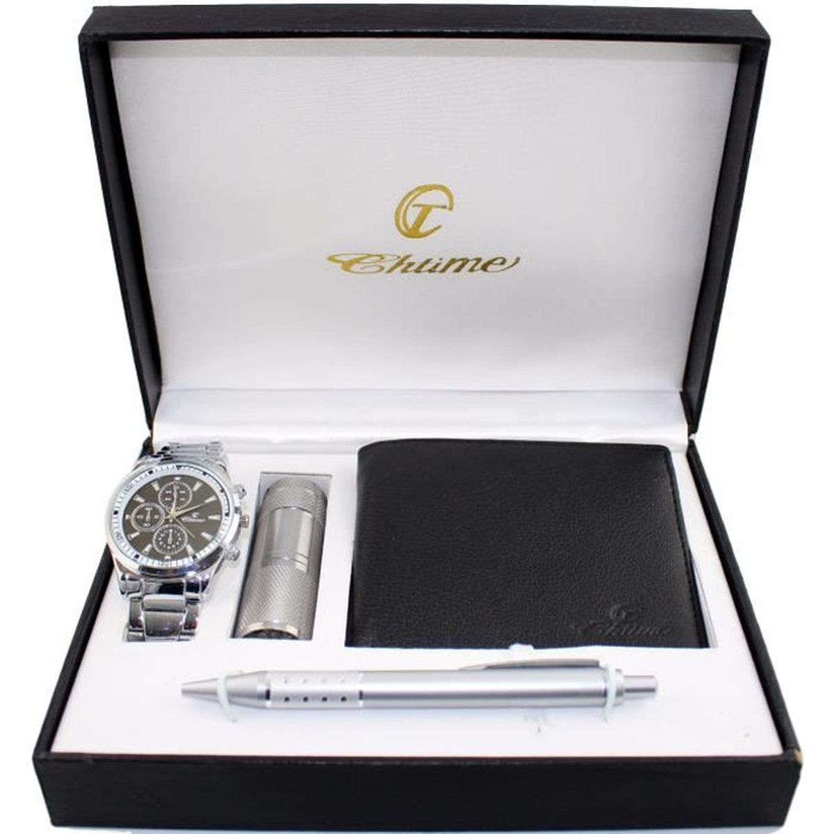 coffret cadeau montre homme portefeuille lampe achat vente montre coffret cadeau montre. Black Bedroom Furniture Sets. Home Design Ideas