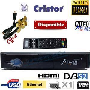 D codeur satellite atlas hd 200 s r cepteur d codeur avis et prix pas cher cdiscount - Recevoir tnt avec parabole sans decodeur ...