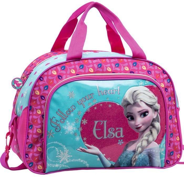 sac de voyage enfant la reine des neiges 40cm elsa achat vente sac de voyage 3662796041079. Black Bedroom Furniture Sets. Home Design Ideas