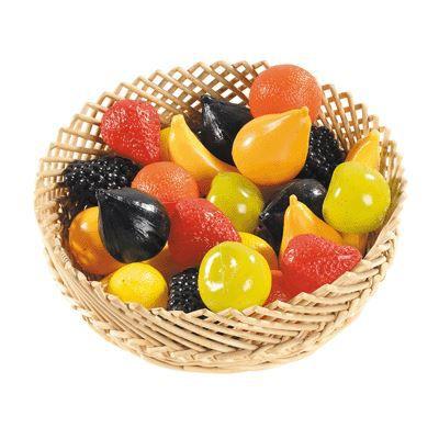 fruit plastique assorti sachet de 24 achat vente dinette cuisine cdiscount. Black Bedroom Furniture Sets. Home Design Ideas