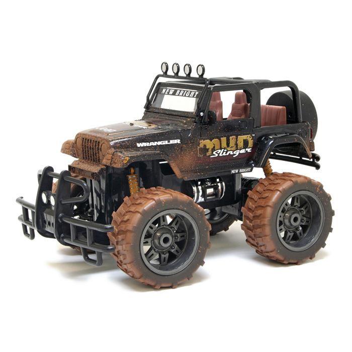 VOITURE - CAMION Jeep Wrangler R/C 1:10 - Peinture boue