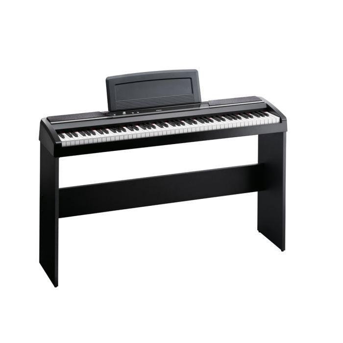 piano numerique korg sp170s bk noir avec stand achat vente piano piano numerique korg. Black Bedroom Furniture Sets. Home Design Ideas
