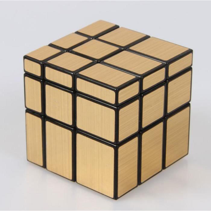 Magique cube miroir 3x3x3 puzzle jouet d compression pour for Cube miroir habitat