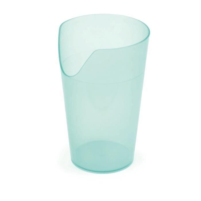 Vitility gobelet nosey vert 240 ml achat vente verre - Place du verre a eau sur une table ...