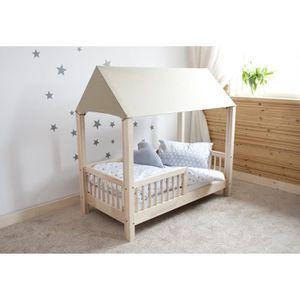 lit cabane 90 190 achat vente lit cabane 90 190 pas cher les soldes sur cdiscount cdiscount. Black Bedroom Furniture Sets. Home Design Ideas