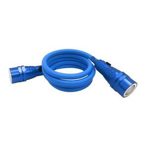 Lampe de poche LED flexible ? double éclairage Clever Scope bleu