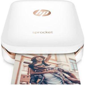 IMPRIMANTE Imprimante photo de poche HP - Sprocket - Blanc- i