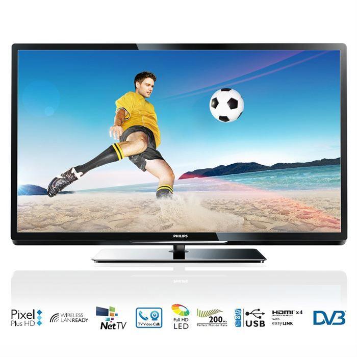 philips 32pfl4007h tv led achat vente televiseur led 32. Black Bedroom Furniture Sets. Home Design Ideas