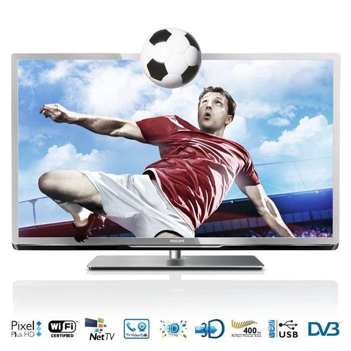 PHILIPS 46PFL5507H TV 3D 117 cm téléviseur led, prix pas cher