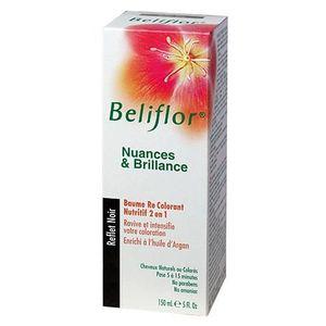 coloration beliflor baume recolorant noir 150ml - Shampoing Colorant