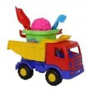 jouet pour le sable set camion seau et pelle achat. Black Bedroom Furniture Sets. Home Design Ideas
