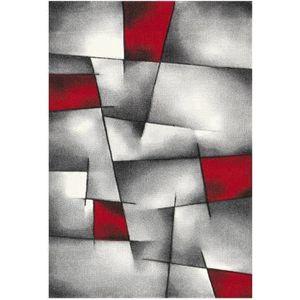TAPIS BRILLANCE Tapis de salon  160x230 cm rouge, noir e