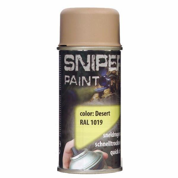 bombe de peinture sniper paint desert 150 ml achat vente bombe de peinture bombe de peinture. Black Bedroom Furniture Sets. Home Design Ideas