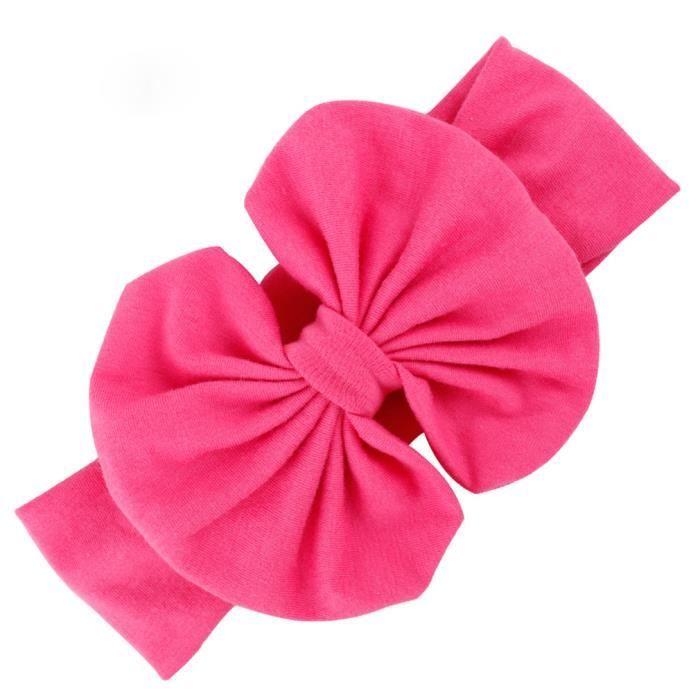 bandeau serre t te b b enfant fille accessoire cheveux noeud papillon rouge lastique achat. Black Bedroom Furniture Sets. Home Design Ideas
