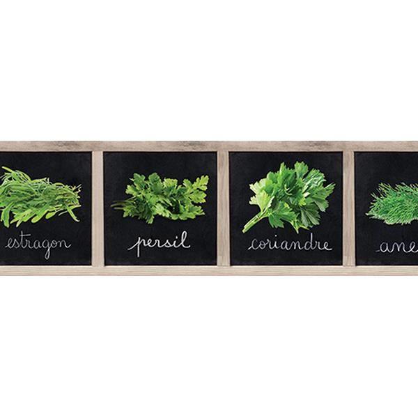 Frise adhesive herbier 15cm x 500cm achat vente papier - Frise adhesive cuisine ...