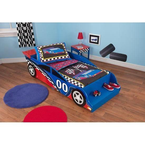 Lit voiture de course enfant achat vente structure de - Lit voiture de course ...