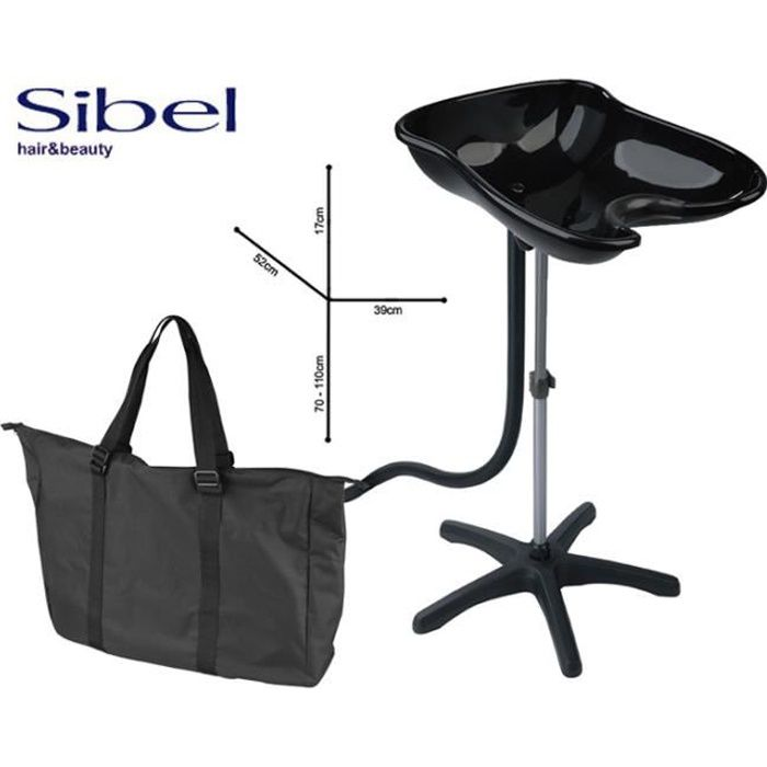 Lave t te compact noir inclinable housse achat vente for Housse causeuse inclinable