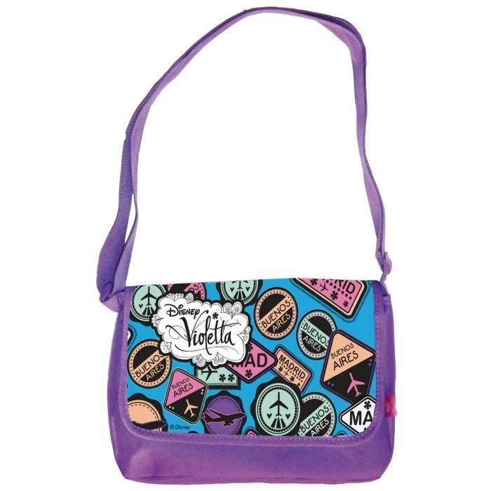 Violetta color me mine sac bandouli re sac colorier achat vente jeu de mode couture - Sac a colorier violetta ...