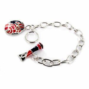bracelet kyoto argent gris kenzo