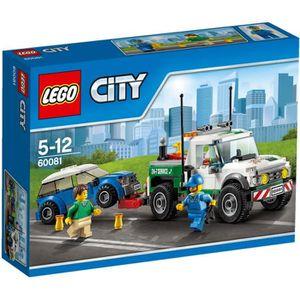 ASSEMBLAGE CONSTRUCTION LEGO® City 60081 Le Pick-Up Dépanneuse